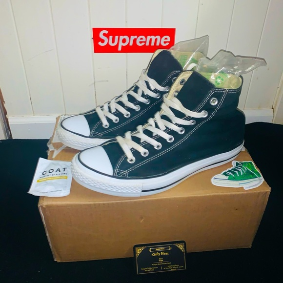 Men's All Star Converse, Size 9.5, Great condition